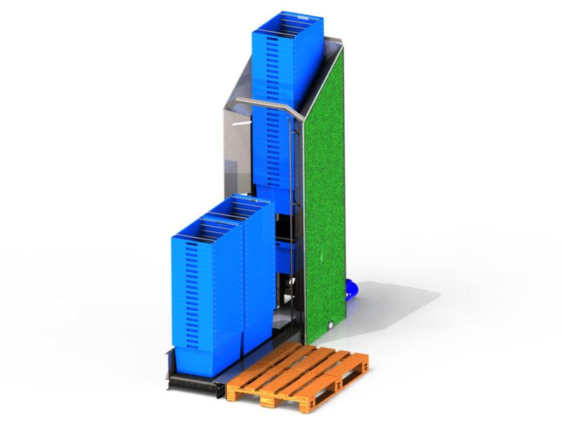 CD15 Case Dispenser - Kasse dispenser